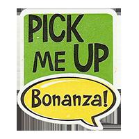 Bonanza! PICK ME UP  28,8 x 34,4 mm plastic 2011 J unique