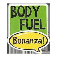 Bonanza! BODY FUEL 28,8 x 34,4 mm plastic 2011 J unique