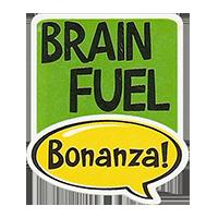 Bonanza! BRAIN FUEL  28,8 x 34,4 mm plastic 2011 J unique