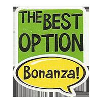 Bonanza! THE BEST OPTION  28,8 x 34,4 mm plastic 2011 J unique