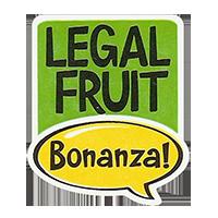 Bonanza! LEGAL FRUIT  28,8 x 34,4 mm plastic 2011 J unique