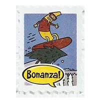 Bonanza!   25,9 x 33,8 mm plastic 2012 J Ecuador unique