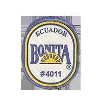 BONITA #4011  22 x 26,8 mm paper before 2012 J Ecuador unique