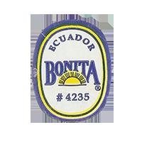 BONITA # 4235  22,1 x 28,2 mm paper before 2012 NB Ecuador unique