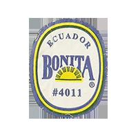 BONITA #4011  22,1 x 28,1 mm paper before 2012  Ecuador unique