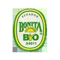 BONITA BIO 94011  22,1 x 28,1 mm paper before 2012 NB Ecuador unique