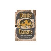 Bonita Banana BANANABOA  17 x 24.6 mm paper 2017 MC Ecuador unique