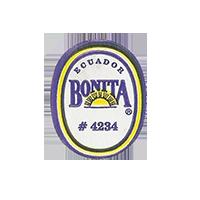 BONITA # 4234  18,7 x 23,3 mm paper before 2012 Ecuador unique