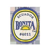 BONITA #4011  22 x 28 mm paper before 2012 Ecuador unique