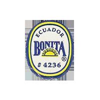 BONITA # 4236  18,9 x 23 mm paper before 2012 Ecuador unique