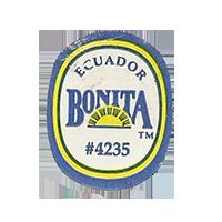 BONITA #4235  22,1 x 28,1 mm paper before 2012 Ecuador unique