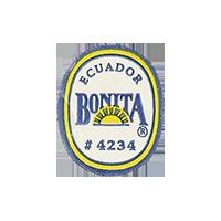 BONITA # 4234  18,8 x 23,3 mm paper before 2012 Ecuador unique
