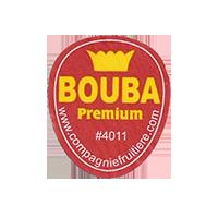 BOUBA Premium #4011 www.compagniefruitiere.com  22 x 25,8 mm paper before 2012 unique