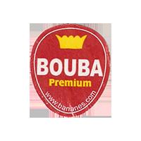 BOUBA Premium  www.bananes.com  22,1 x 25,9 mm paper before 2012 unique