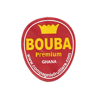 BOUBA Premium www.compagniefruitiere.com  22 x 25,8 mm paper 2012 DK Ghana unique