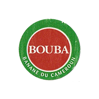 BOUBA BANANE DU CAMEROUN  24,4 x 24,1 mm paper 2012 KČ Cameroun unique