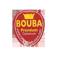 BOUBA Premium www.compagniefruitiere.com  22 x 25,4 mm paper 2012 M Cameroun unique