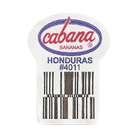 cabana BANANAS  #4011  22,4 x 30,3 mm paper 2016 JK Honduras unique
