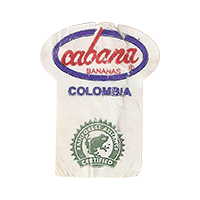 cabana Bananas RAINFOREST ALLIANCE CERTIFIED  0 x 0 mm paper 2017  Columbia unique