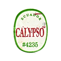 CALYPSO #4235  22,1 x 28,2 mm paper before 2012 Ecuador unique