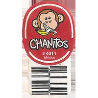 CHANITOS # 4011  0 x 0 mm paper 2018 DP Mexico unique