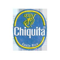 Chiquita   22 x 26,7 mm paper 2013 J Costa Rica unique