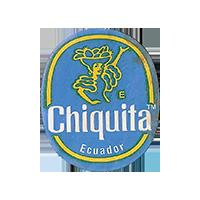 Chiquita  E  22 x 26,6 mm paper 2014 J Ecuador unique
