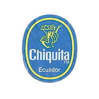 Chiquita   21,9 x 26,7mm paper before 2012 Ecuador unique