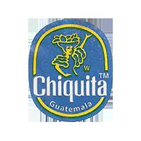 Chiquita W   22,1 x 27 mm paper 2016 J Guatemala unique