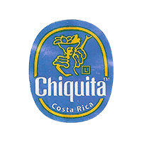 Chiquita L   22 x 26,7 mm paper 2016 IZ Costa Rica unique