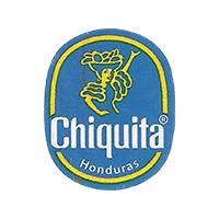 Chiquita  22 x 26,7 mm paper 2017 J Honduras unique