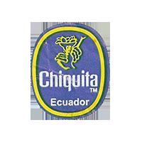 Chiquita   21,8 x 26,4 mm paper before 2012 Ecuador unique