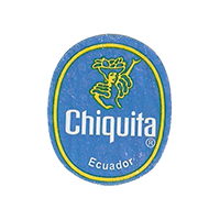Chiquita   22,1 x 26,7 mm paper before 2012 Ecuador unique