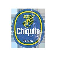 Chiquita   22,2 x 26,8 mm paper 2012 DK Panama unique