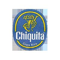 Chiquita   22,4 x 26,8 mm paper before 2012 NB Costa Rica unique