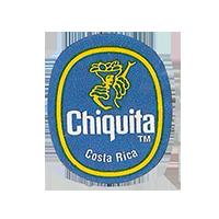 Chiquita   22,3 x 26,9 mm paper 2014 J Costa Rica unique