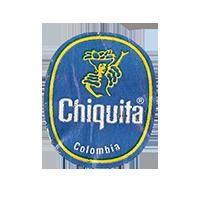 Chiquita   21,9 x 26,9 mm paper before 2012 J Colombia unique