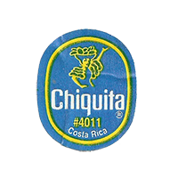 Chiquita  #4011  22,1 x 26,7 mm paper before 2012 NB Costa Rica unique