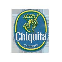 Chiquita   22 x 26,8 mm paper before 2012 NB Colombia unique