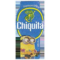 Chiquita  Chiquita.com/DM2 Despicable Me 2  22 x 44,6 mm paper 2013 J unique