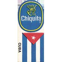 Chiquita CUBA  0 x 0 mm paper 2017 KČ unique