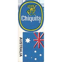 Chiquita AUSTRALIA  0 x 0 mm paper 2017 KČ unique