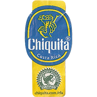 Chiquita Chiquita.com/rfa RAINFOREST ALLIANCE CERTIFIED  0 x 0 mm paper 2017  Costa Rica unique