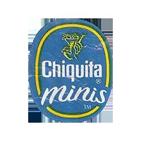 Chiquita minis  21,8 x 26,7 mm paper 2016 J unique