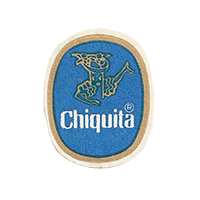 Chiquita  22,7 x 27,3 mm paper before 2012 unique