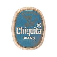 Chiquita BRAND  22,3 x 28,5 mm paper 2017 MC Ecuador unique