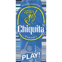 Chiquita PLAY! chiquita.com/play  22,1 x 44,5 mm paper 2016 J Panama unique