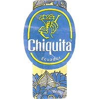 Chiquita  0 x 0 mm paper 2017  Ecuador unique