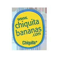 Chiquita www.chiquitabananas.com  22,1 x 26,7 mm paper before 2012  unique