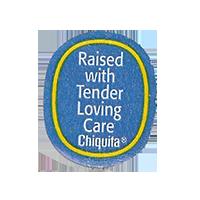Chiquita Raised with Tender Loving care  22,1 x 26,7 mm paper before 2012  unique